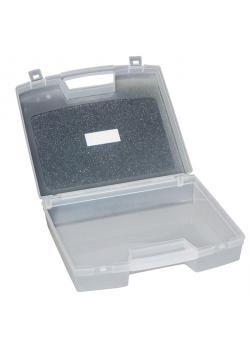 Koffer - aus Polypropylen - leer - Farbe transparent