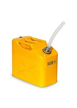 FALCON safety canister - painted steel - with screw cap and outlet pipe