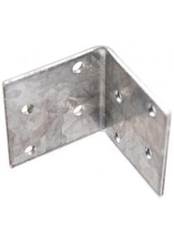 Winkelverbinder - 40 x 40 x 40 x 2 mm - verzinkt