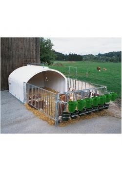 Group Igloo FLIXBOX - for up to 7 calves - different versions