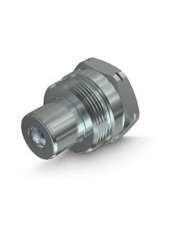 """Faster PVSM-Stecker - Stahl verchromt - DN 10 - Size 6 - Innengewinde NPT 3/8"""" - PN 720 - nach ISO 14540"""
