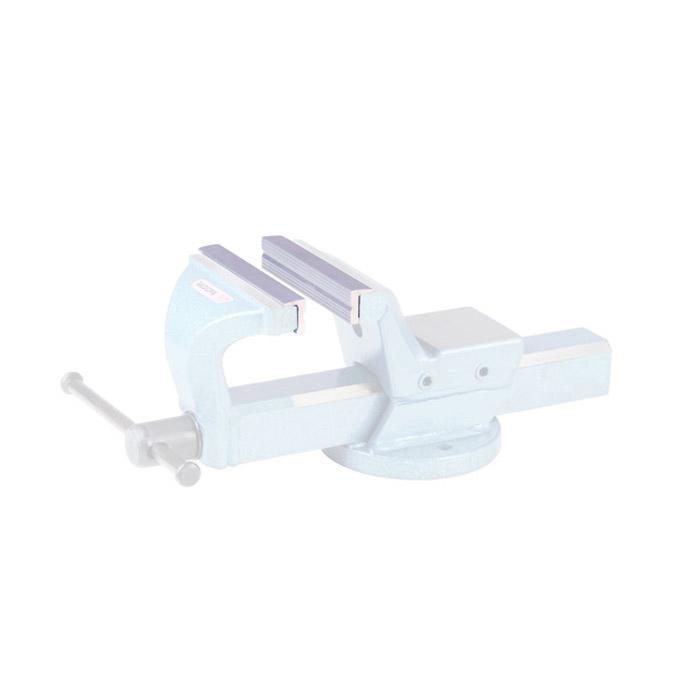 Ersatzbacken - Aluminium - für Parallel-Schraubstock - induktiv gehärtet