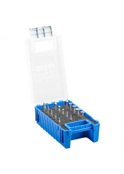 Frässtifte-Set - PFERD - 15 HSS-Feinfrässtifte - Schaft-Ø 3 mm - Spezialzahnung