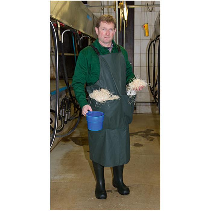 Melkerschürze Premium - mit Taschen -  Größe S bis L - Breite 118 cm - Länge 110 bis 125 cm