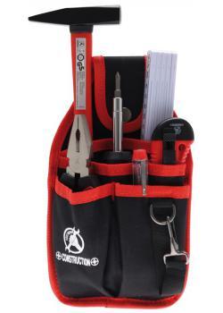Jeu d'outils - dans la poche de ceinture de polyester - 7 pcs.