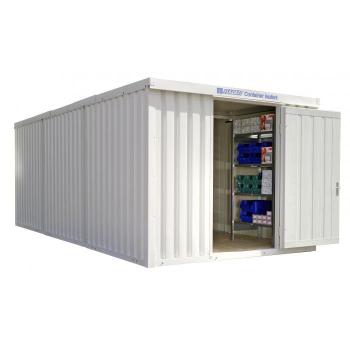 """Container - """"IC 1360"""" - isolerad - 18 m² - monterad - FLADAFI®"""