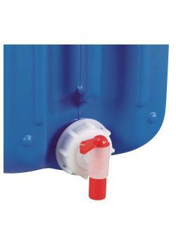 Schraubverschluss - Kunststoff - mit Ablasshahn - für Kanister - für Gewinde DIN 45