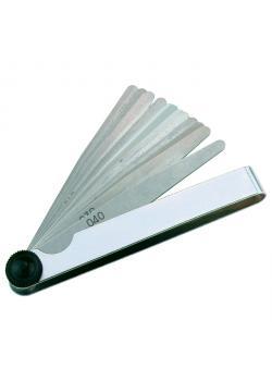 Set spessimetri - campo di misura 0.05-0.50 mm - 8 fogli