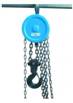 Kettenflaschenzug - Traglast 1 Tonne - Hubhöhe bis 2,5 m - GS geprüft