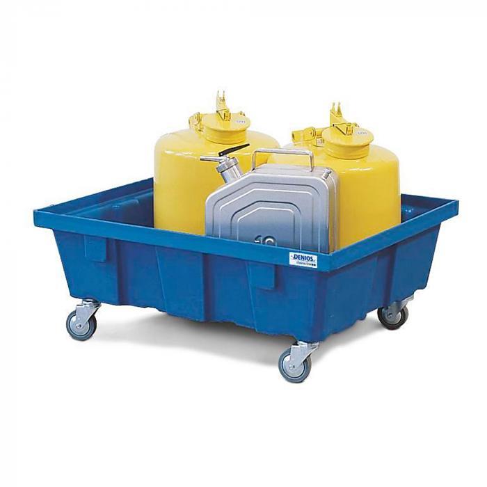 Auffangwanne PolySafe - verschiedene Typen - Polyethylen - für 1 bis 2 Fässer à 60 Liter