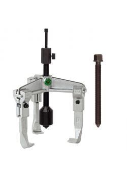 Universal Abzieher - 3-armig - Spannbereich 160 bis 350 mm - mit langer Hydraulikspindel - KUKKO