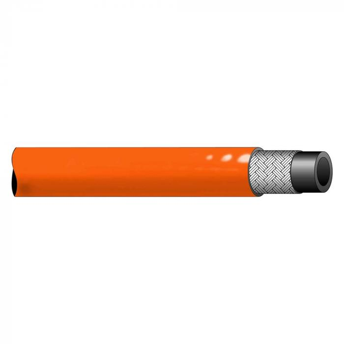 Thermoplastikschlauch TP-R8NC - nach SAE 100 R8 - PU/PEL - DN 6 bis 12 - Außen-Ø 11,5 bis 19,9 mm - PN bis 350 - Preis per Rolle
