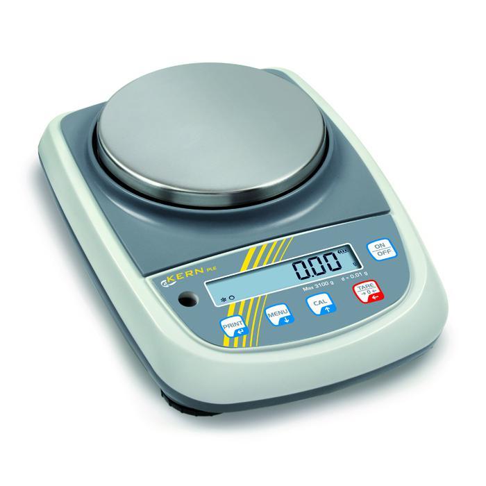 Waage - Wägebereich 420 g bzw. 4,2 kg - kleinstes Teilegewicht 0,005 bzw. 0,05 g/Stück