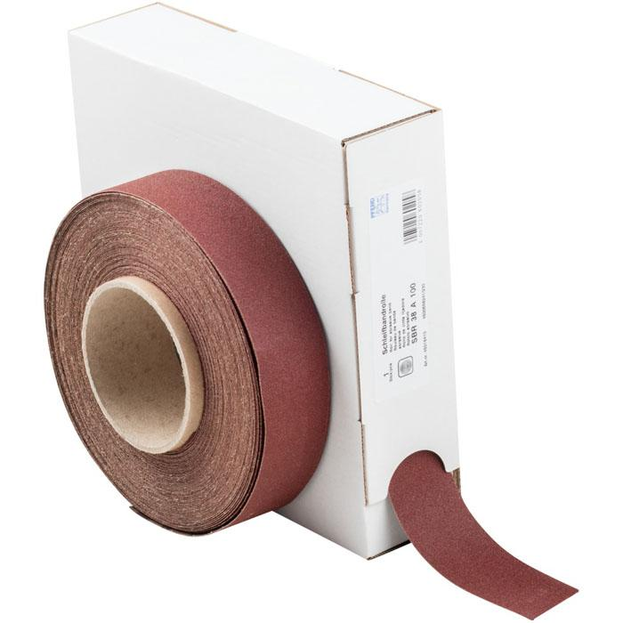 Slipband - PFERD - korund A - kornstorlek 40 till 800 - På rulle