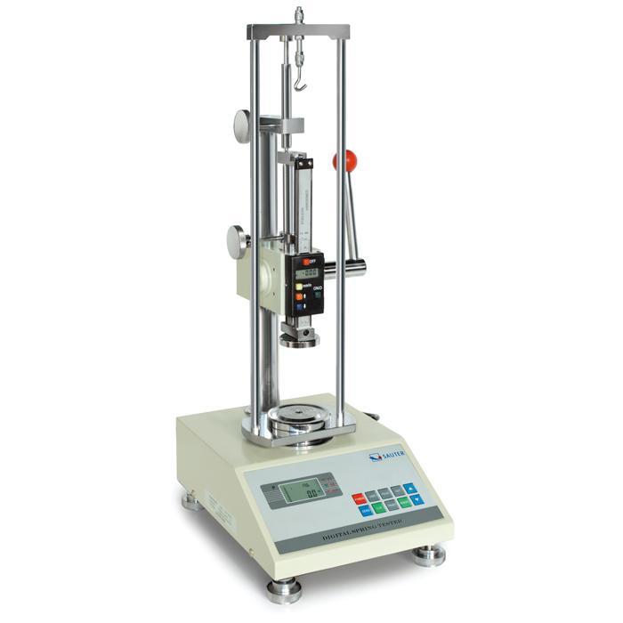 Banc d'essai pour ressorts - test de traction et de compression - Plage de mesure max. de 50 à 500 N