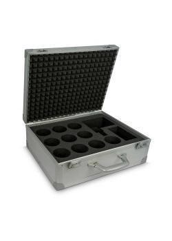 Fodral ptcsystem® - för 10 munstycken - med skuminsats - utan tillbehör