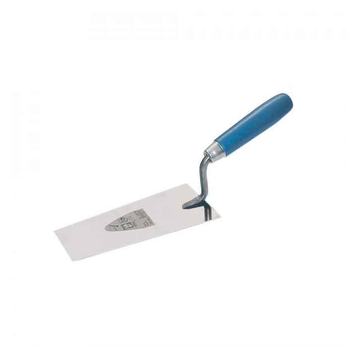 Berner Putzkelle - gehärteter Stahl - Länge 120 bis 140 mm