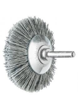 Kegelbürste - PFERD - ungezopft, aus SiC - mit Schaft - für NE-Metall u.a.