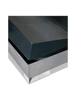 Haponkestävä tarjotin - polyeteeniä (PE) - lokeroiden keräämiseen 1350 x 1650 mm