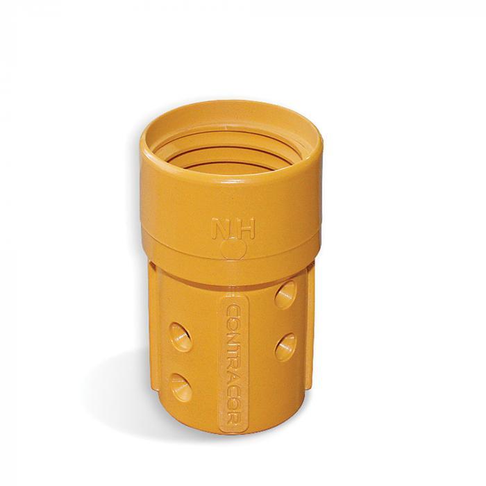 Munstyckshållare nylon NHP - slangdiameter 19 x 33 till 25 x 39 mm - gänga 50 mm