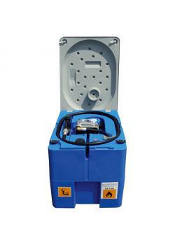 Mobil Bränletank - 210 liter - för diesel - 40 l/min - Spänning 12V DC - Med låsbart lock