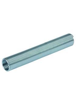 Knick- und Scheuerschutzfeder SF - Federstahldraht verzinkt - Innen-Ø 10 bis 56 mm - Rolle 5 bis 10 m - Preis per Rolle
