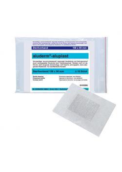 aluderm® aluplast sterilt förband 100 x 90 mm
