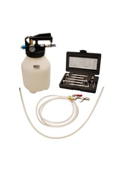 "Oil Filling - compressed air - for transmission - 1/4 ""air connection - 6 L container"
