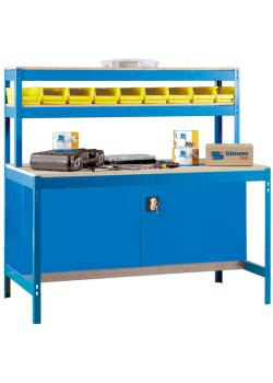Workbench BT-1 Locker - MDF bänkskiva - Kapacitet 600 kg