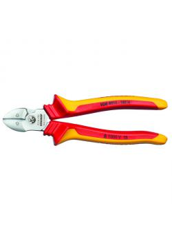 VDE side cutters - sheath insulated - cutting edge hardness 63-65 HRC