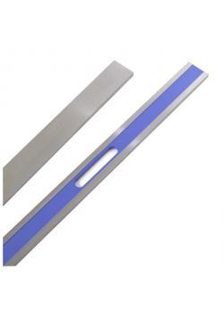 Präzisionsstahllineal - gemäß DIN 874/II - Länge 3000 mm - Querschnitt 80 x 15 mm