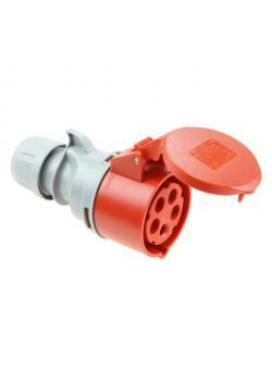 "CEE-Kupplungsdose ""Turbo Shark"" - 5-Polig - 6h - 32 A - 400 V - IP44"