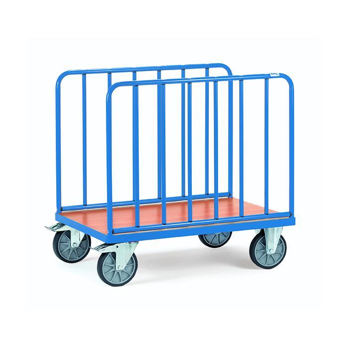 Chariot longitudinal - avec des barres verticales - hauteur 750 mm