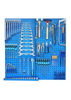 Tool assortment - with tool board - metric - 100 pcs.