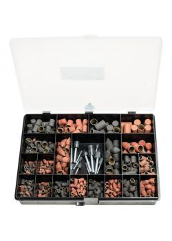 Schleifkappen-Set - PFERD POLICAP® PCS 650 - inkl. Schleifkappenträger