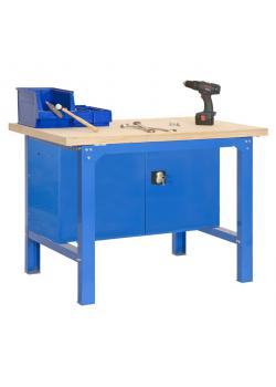 Workbench BT-6 Plywood Locker - höjd 840 x djup 750 mm - Kapacitet 800 kg