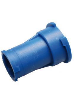Connector - Size R123 / R125 - Color blue