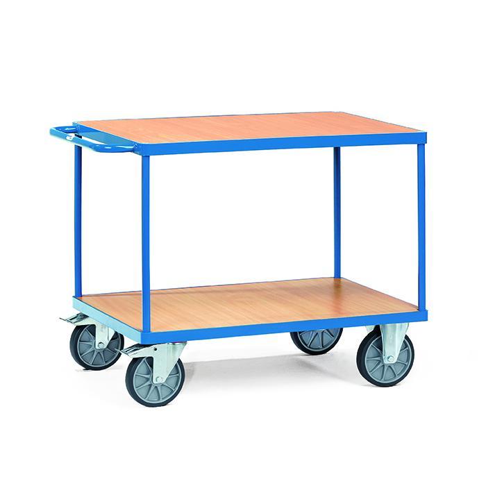 Tableau chariot - 400-500 kg capacité - avec 2 tablettes