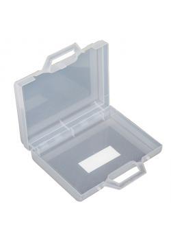 Leerer Werkzeugkoffer - Farbe transparent - 160 x 120 x 37 mm