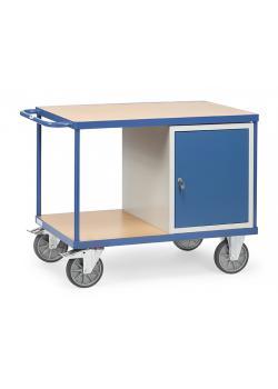 Tabella trolley - 1 armadio e 2 ripiani