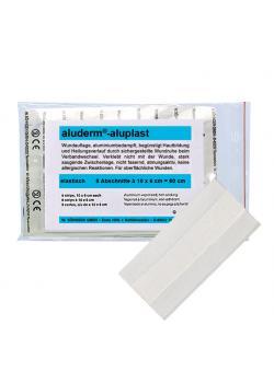 Plåster - aluderm® aluplast - elastisk - vit - olika storlekar