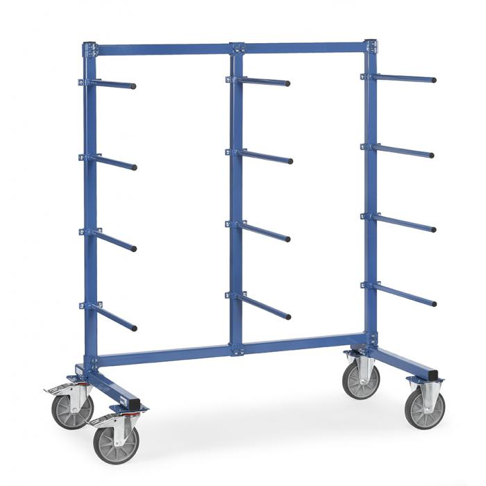 Carrier spars - 12 brackets on one side - carrying capacity 500 kg