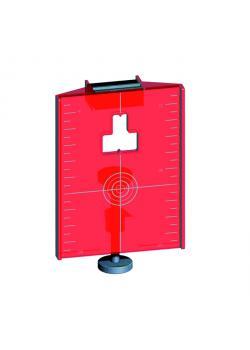 Magnetisk måltavla - för alla roterande lasrar eller lasermätanordningar