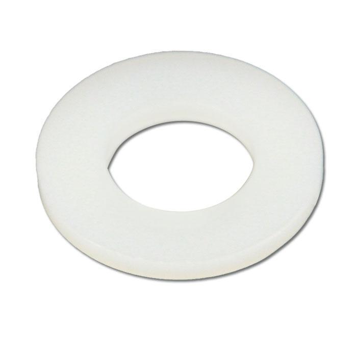 Beilegscheiben - (Ø x Innen-Ø x H) 5 x 2,2 x 1 bis 16 x 6,2 x 1 mm - PA 6.6 / Nylon natur