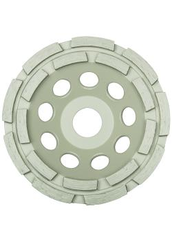 Diamantschleifscheibe DS 600 B - Durchmesser 100 bis 180 mm - Schleiftellerhöhe 20 bis 30,5 mm - gelötet