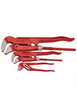 Rörtänger - set - S-mun - 3 delar - längd till 250 mm