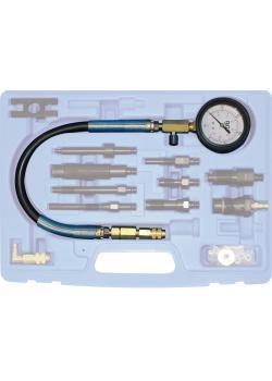 Tulosta kello - letkulla - puristus mittari Dieselmoottoreiden