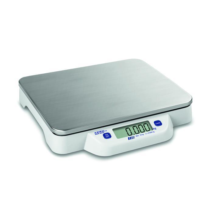 Waage - max. Wägebereich 10 bis 50 kg - Edelstahlwägeplatte - Tischwaage