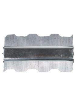 Feinkonturenlehre - Metallausführung - Länge 125 mm