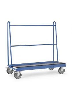 Plate trolley - with loading surface of waterproof plywood